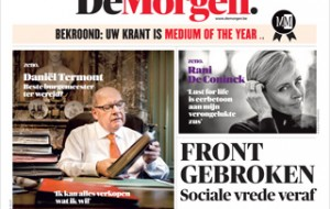 De Morgen, Medium of the Year in Belgium