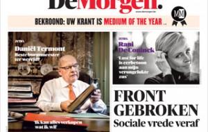 De Morgen, Medium of the Year in Belgium